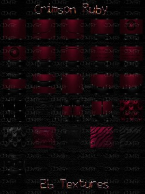 Crimson Ruby Textures Catty Only!!!