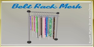 Belt Rack Mesh Catty Only!!!!