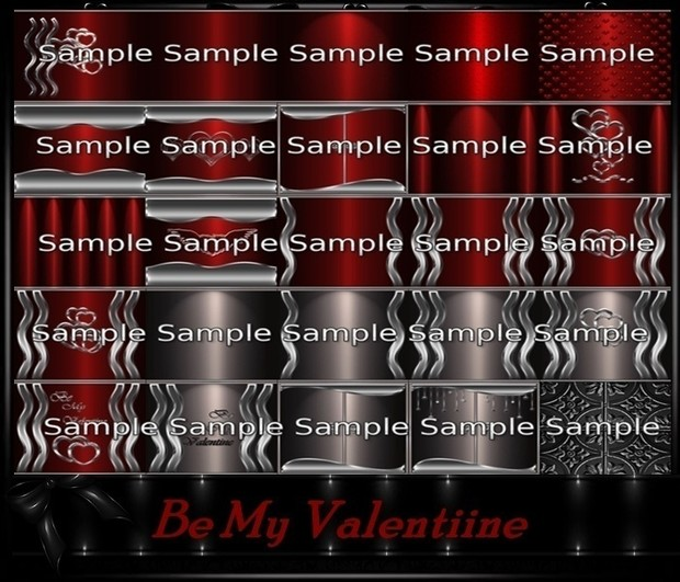 Be My Valentine Textures Catty Only!!!
