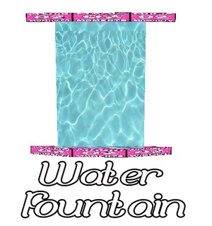 Water Fountain Mesh Catty Only!!!!