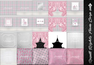 Baby Girl Nursery Textures Catty Only!!!