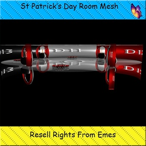 St Patrick's Day Room Mesh Catty Only!!!