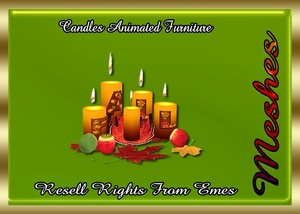 Fall Candles Furniture Catty Only!!!