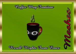 Coffee Mug Furniture Catty Only!!!