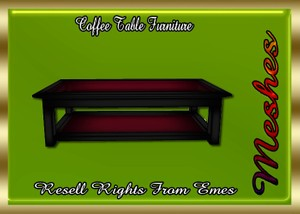 Coffee Table Furniture Catty Only!!!
