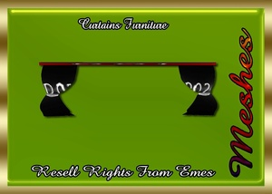 Curtains Furniture Catty Only!!!