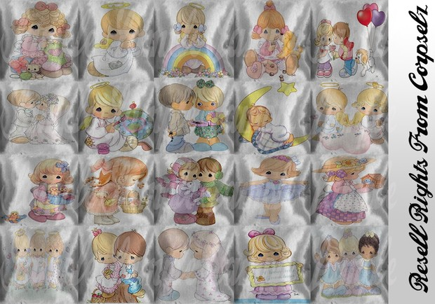 Precious Moments Pillows Textures Catty Only!!!