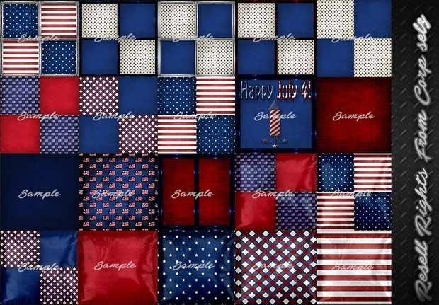4th Of July Textures Pack Catty Only!!!