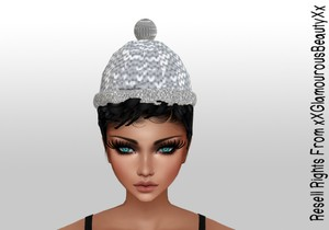 Animated Winter Hat Mesh Resell Rights!!