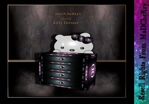 Kitty Dresser Mesh Catty Only!!!!