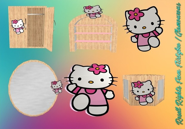 Kids Kitty Furniture Mesh Set Catty Only!!!