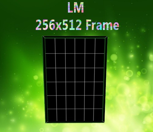 256x512 Frame Mesh Catty Only!!!!