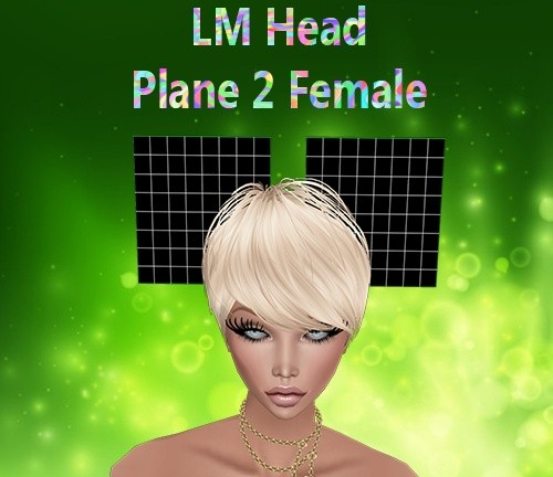 Head Plane 2 Female Mesh Catty Only!!!