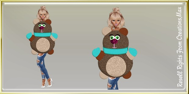 Tuggy Bear Mesh Catty Only!!!!