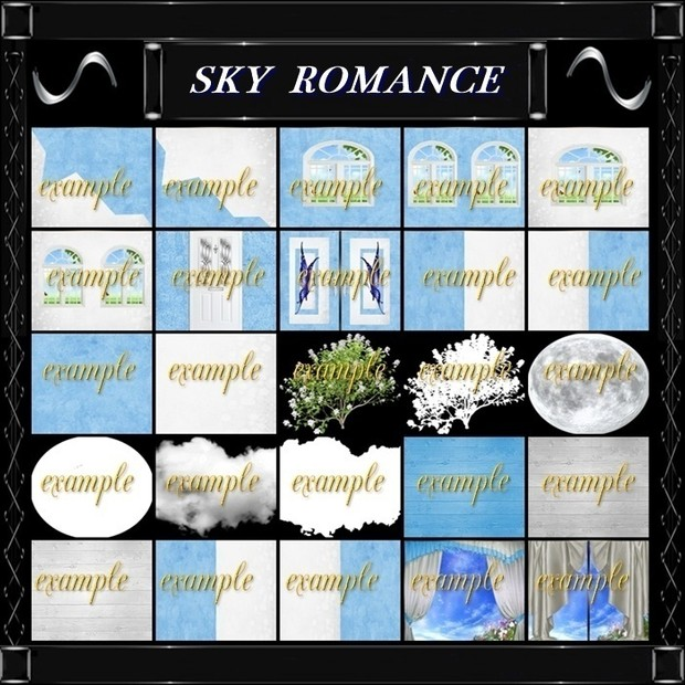 Sky Romance Textures Catty Only!!!