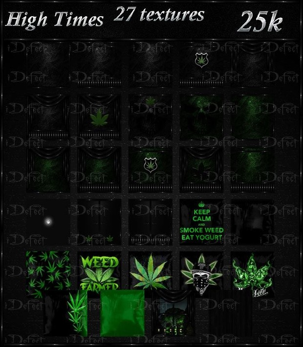 High Times Textures Catty Only!!!!