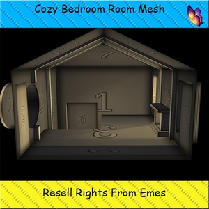 Fireplace Loft Room Mesh Catty Only!!!