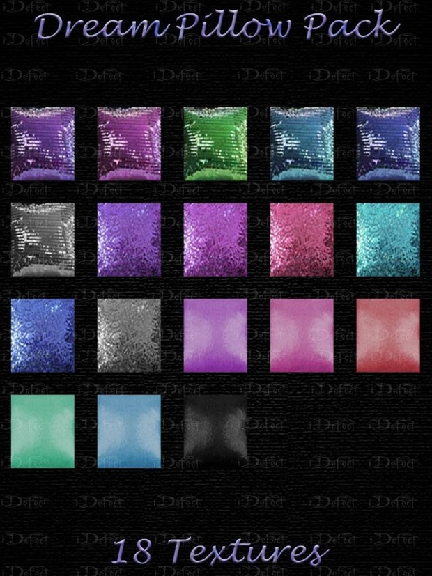 Dream Pillow Pack Textures Catty Only!!!!