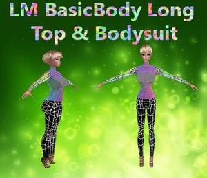 Basic Body Long Top & Bodysuit Mesh Catty Only!!!