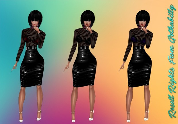 Dark Mistress Outfit Package