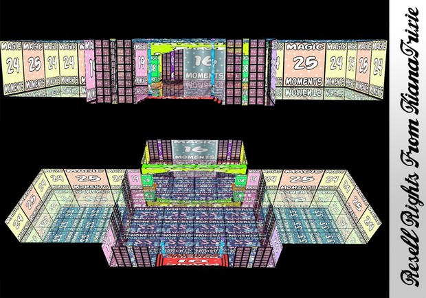 Cosmic Candle Room Mesh Catty Only!!!