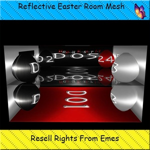 Reflective Easter Room Mesh Catty Only!!!