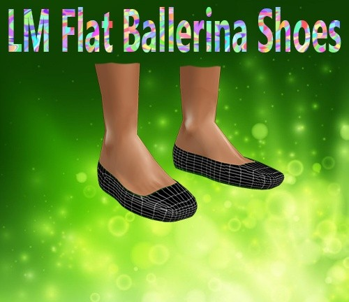 Flat Ballerina Shoes Mesh Catty Only!!!