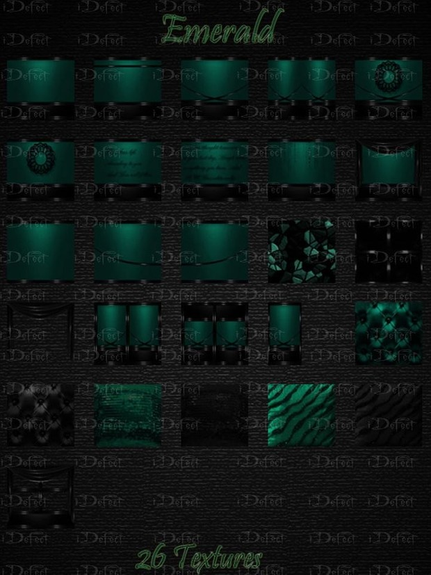 Emerald Textures Catty Only!!!