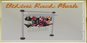 Bikini Rack Mesh Catty Only!!!