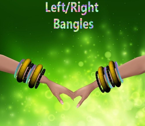 Left/Right Bangles Female Mesh Catty Only!!!!