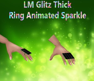 Glitz Thick Ring Animated Sparkle Female Mesh Catty Only!!!