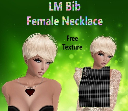Bib Female Necklace Mesh Catty Only!!!