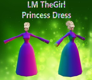 The Girl Princess Dress Mesh Catty Only!!!