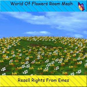 World Of Flowers Room Mesh Catty Only!!!