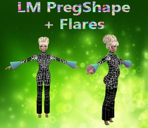 Pregnant Shape & Flares Mesh Catty Only!!!