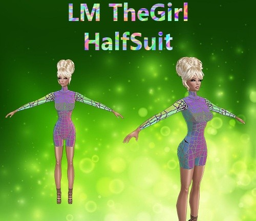 The Girl HalfSuit Mesh Catty Only!!!