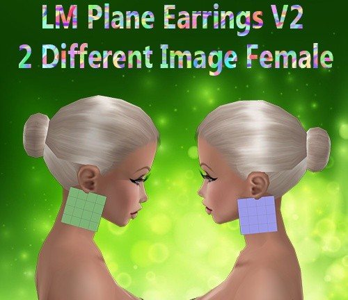 Plane Earrings V1 & V2 Female Catty Only!!!