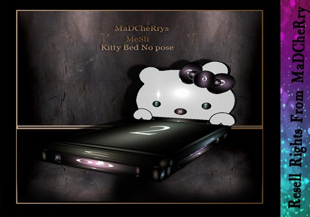 Kitty Bed No Pose Mesh Catty Only!!!