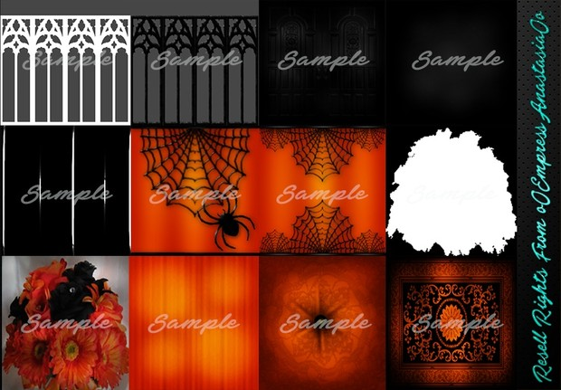 Hallows Eve Textures Resell Rights!!!