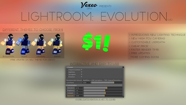 Vexeo's Lightroom: Revolution (v5)