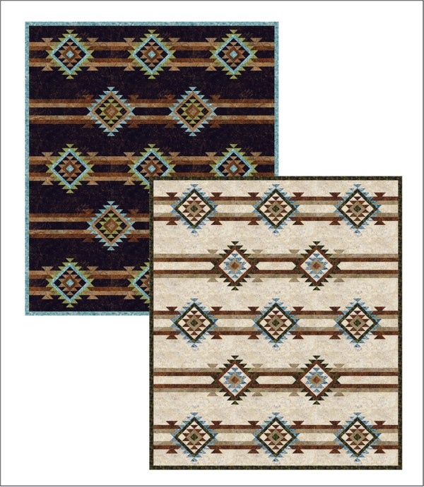 Four Corners Bed Quilt