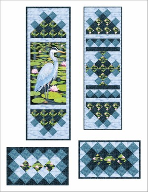 Tupper Lake Wall Hanging and Table Set