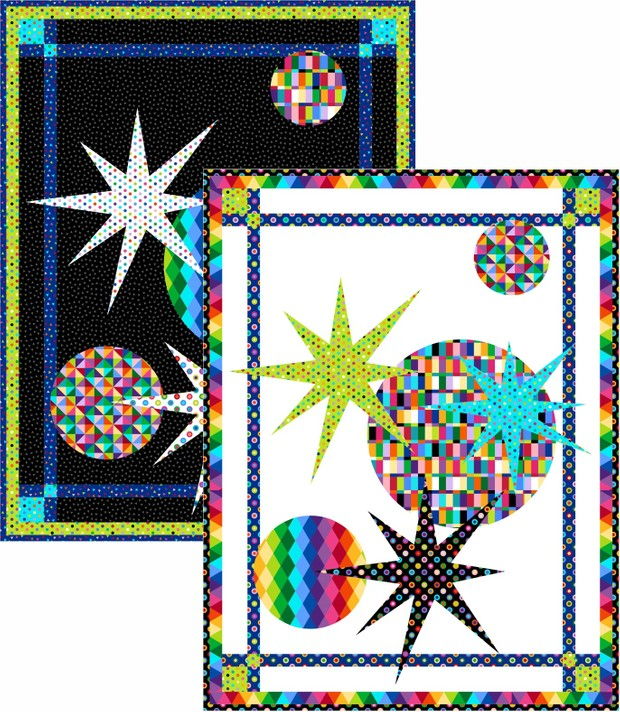 Galaxy Wall Hanging in Two Colors