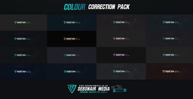 Colour Correction Pack