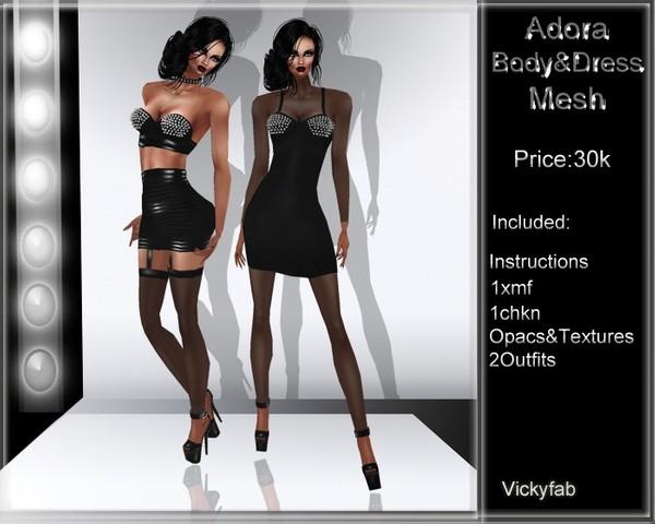 Adora Dress Mesh