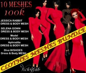 Clothes Meshes Bundle1