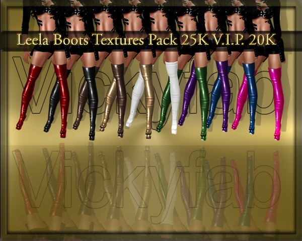 Leela Boots Textures Pack