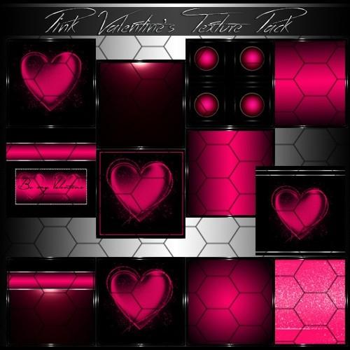 Pink Valentine's Room Textures