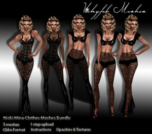 Nicki Minaj Meshes Bundle