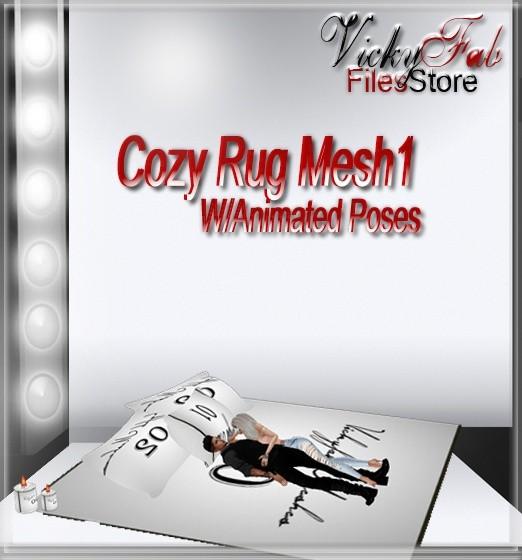 Cozy Rug Mesh1 W/Animated Poses